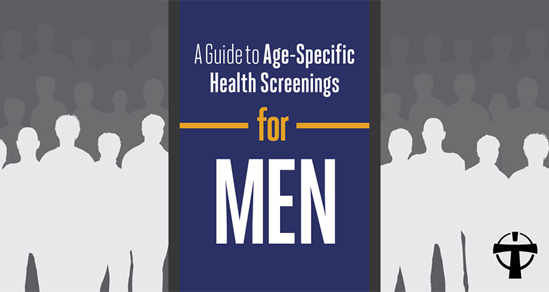 Header for Men Infographic